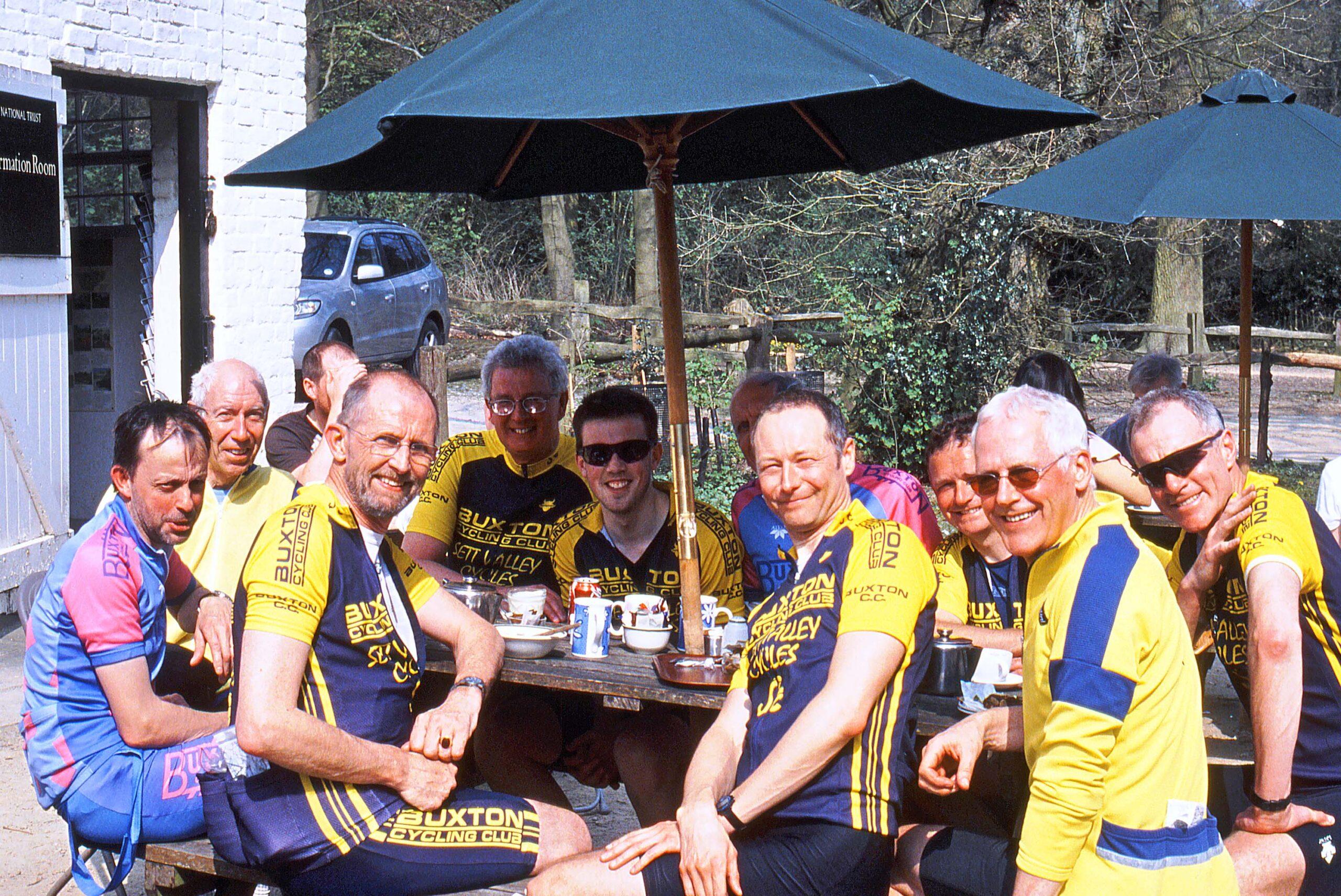 Post Paris-Roubaix tribute ride, 2007 (photo: C. Lea).