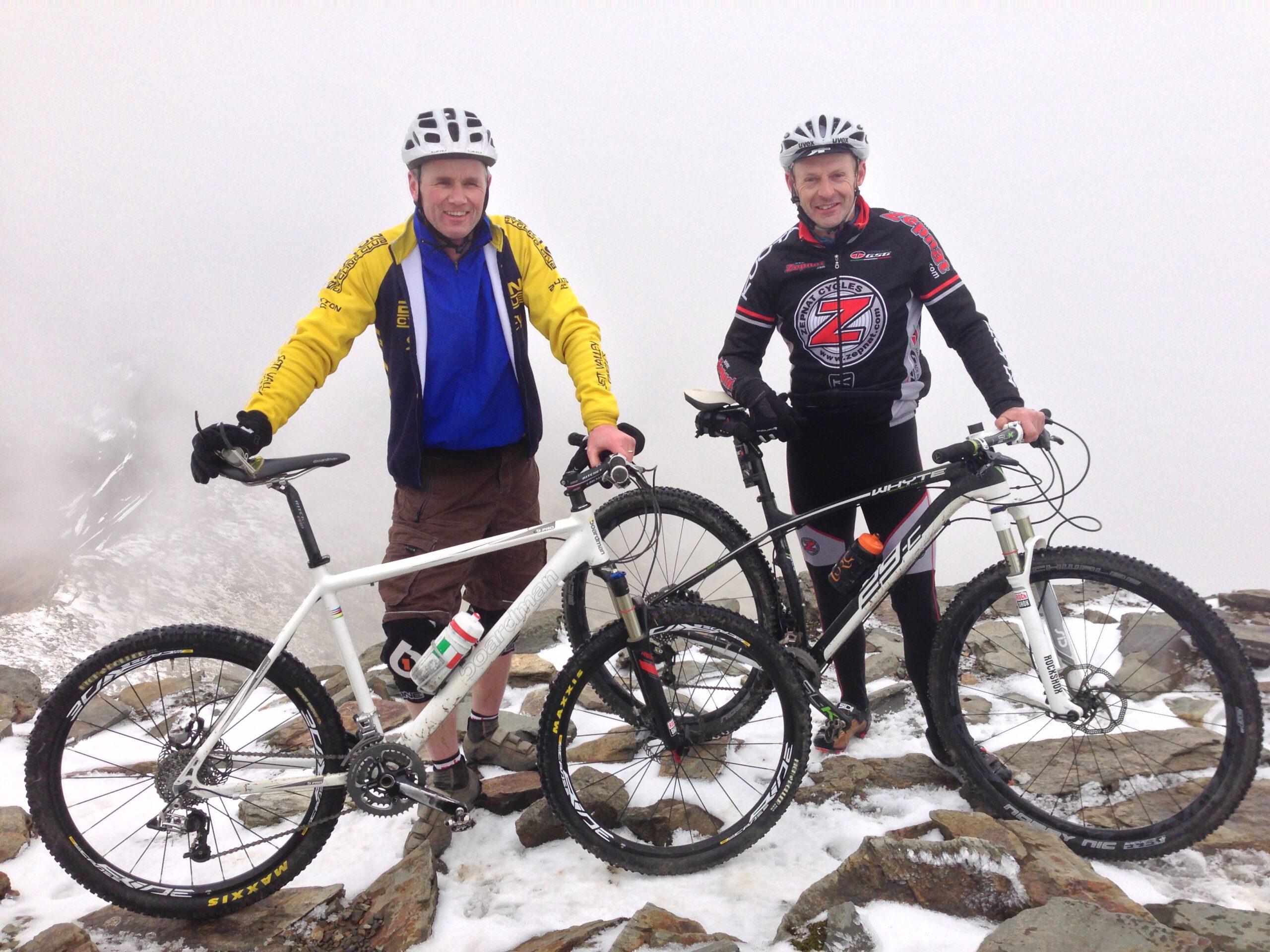 Top of Mount Snowdon April 2013 (photo: R. Cummings)