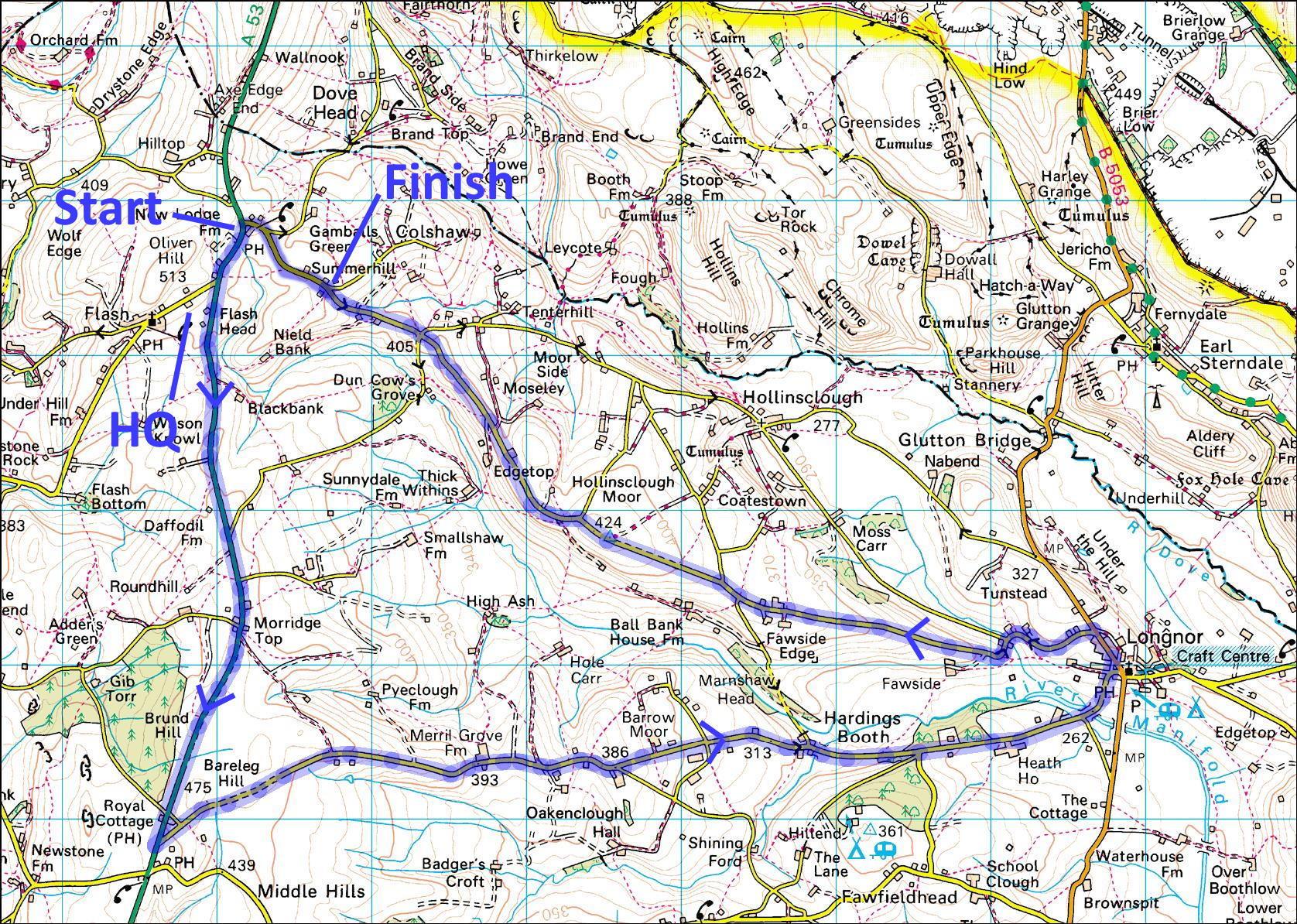 MTT course map